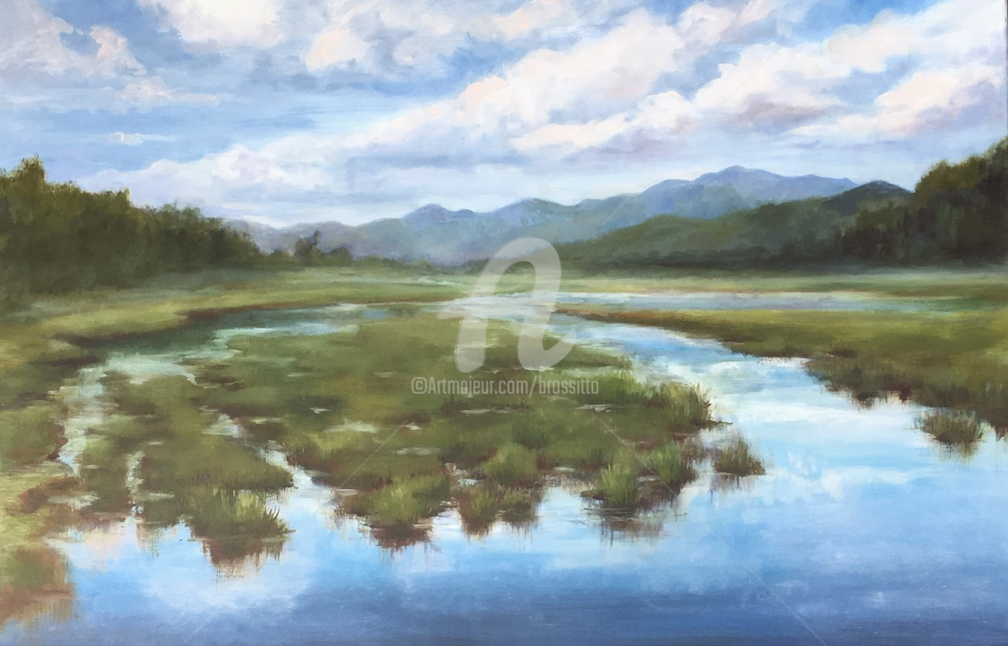 B.Rossitto - Where the Rivers converge – Adirondacks