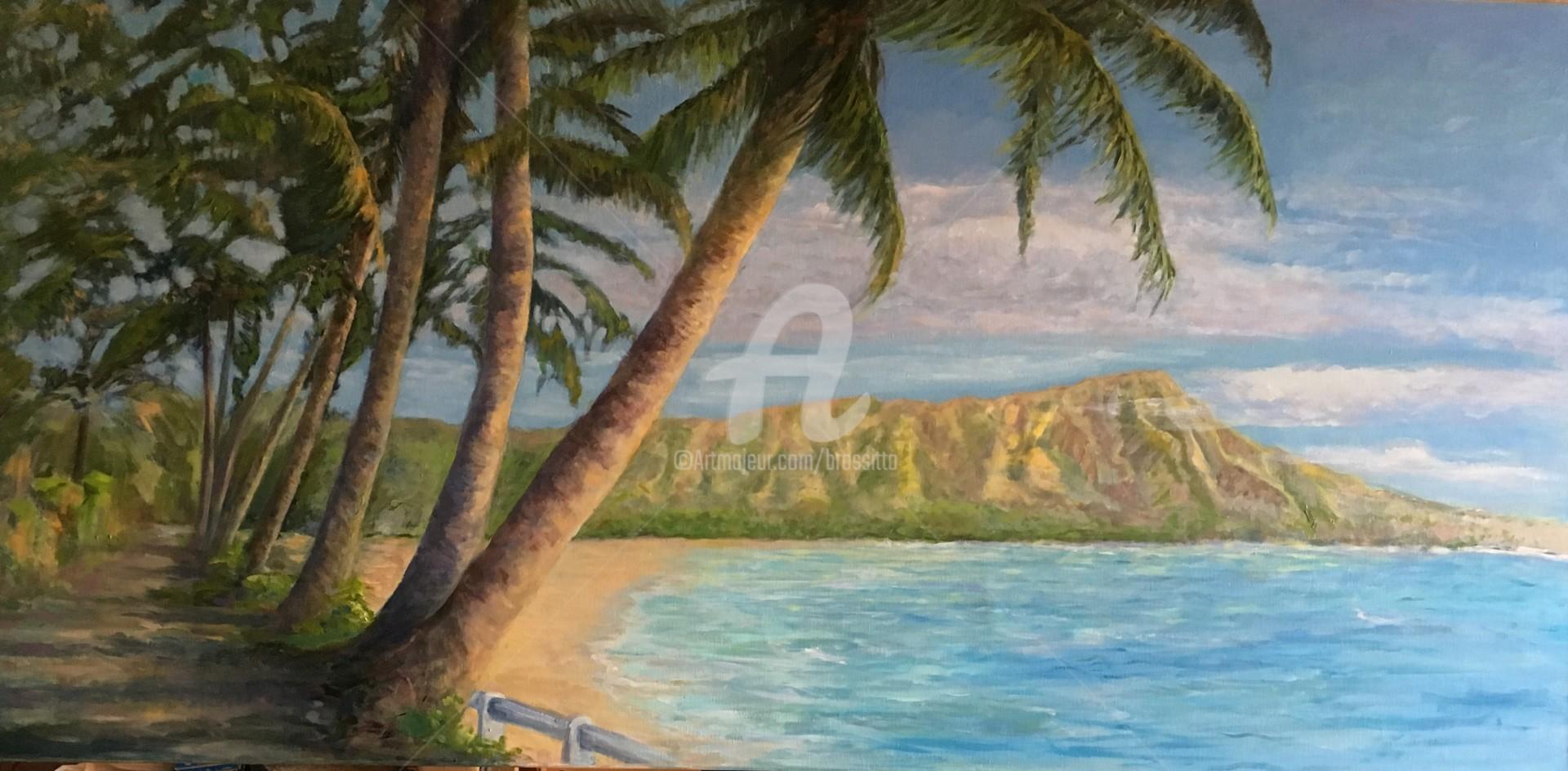B.Rossitto - Waikiki Beach 1944 For Wendy