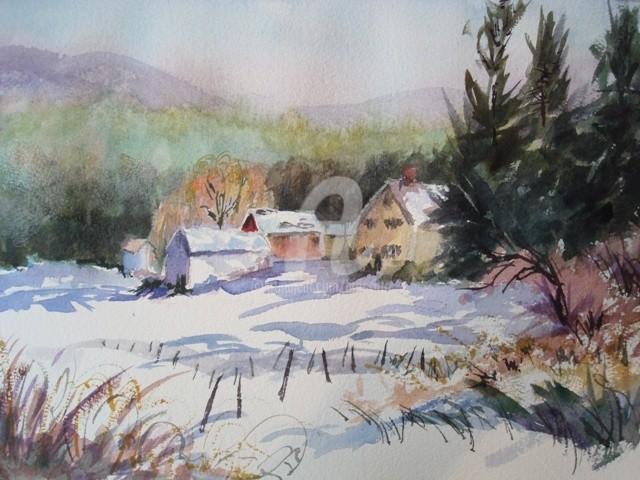 B.Rossitto - New England Winter Scene
