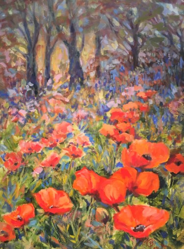 Lake Placid Poppies original