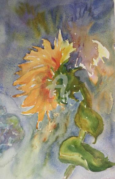 sunflower silouette