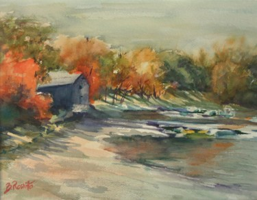 Autumn Morning At the Cove