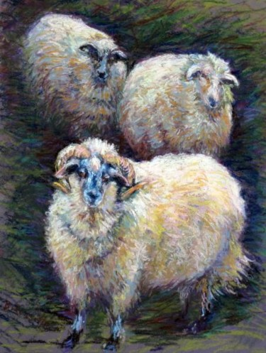 Three Sheep in Winter Cover