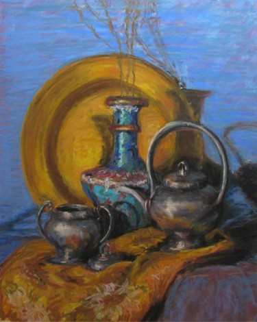 Brass and Pewter Still Life