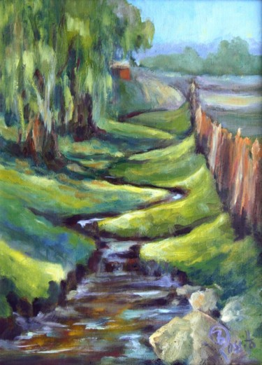 Winding by the Willows