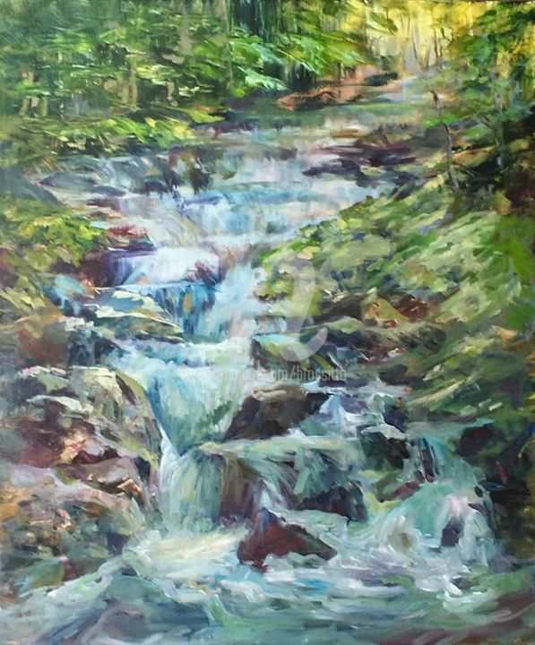 B.Rossitto - Waterfall in the Forest